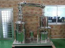 減圧蒸留テスト機