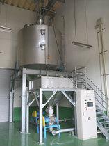 自動計量分配空気米・麦輸送システム